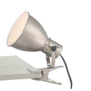 Kiefer Brushed Nickel One-Light Fluorescent Desk Lamp