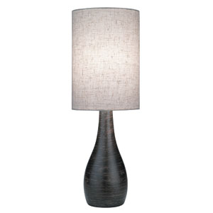 Quatro Dark Bronze One-Light Table Lamp