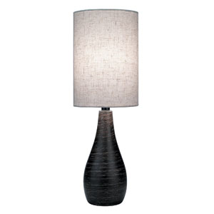 Quatro Dark Bronze One-Light Table Lamp
