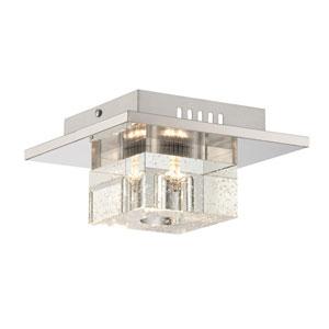 Galen LED Chrome One-Light Flush Mount