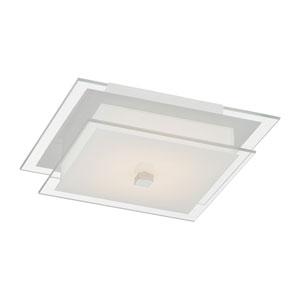 Idonia LED Chrome One-Light Flush Mount