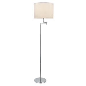Durango Polished Steel One-Light Floor Lamp