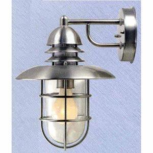 Stainless Steel Single Outdoor Lantern