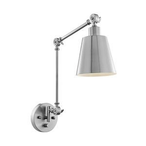 Norco Brushed Nickel One-Light Wall Lamp