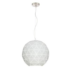 Pandora White 15-Inch One-Light Pendant