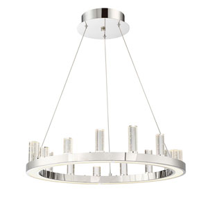 Elina Chrome LED Pendant