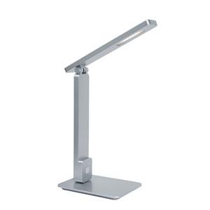 Echo Silver LED Desk Lamp