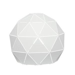 Pandora White One-Light Table Lamp