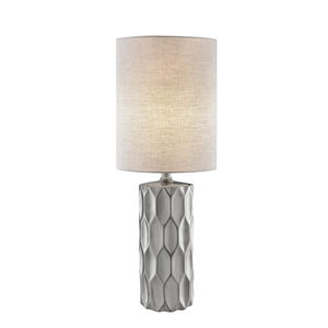 Halsey Silver One-Light Table Lamp