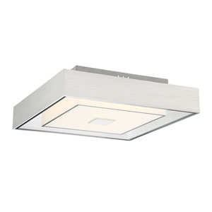 Halona Chrome LED 12W Flush Mount