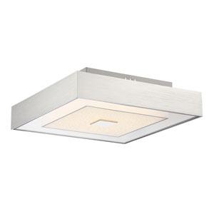 Halona Chrome LED 12W Flush Mount with Diamond Glass