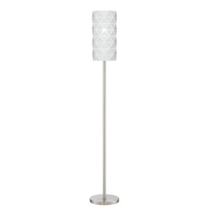 Pandora White 10-Inch One-Light Floor Lamp
