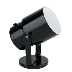 Pin-up Black One-Light Directional Spot Light Wall Lamp