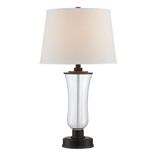 Prisco Dark Bronze Fluorescent One-Light Table Lamp