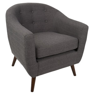 Rockwell Gray Arm Accent Chair