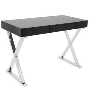 Luster Black office Desk