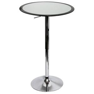 Black Ribbon Bar Table