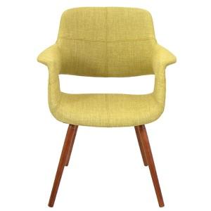 Flair Green Vintage Chair