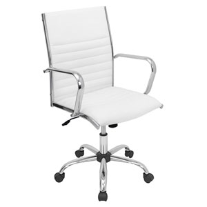 Master White Office Chair