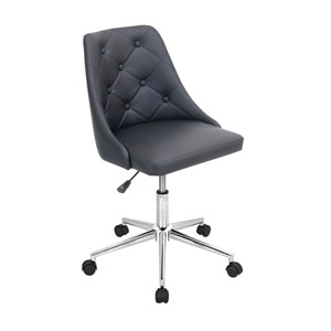 Marche Black Office Chair