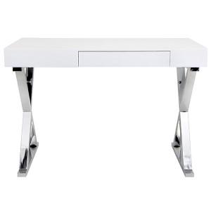 Luster White Desk