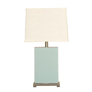 Aegean One-Light Ceramic Block Table Lamp
