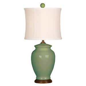 Splash Moss One-Light 18-Inch Table Lamp