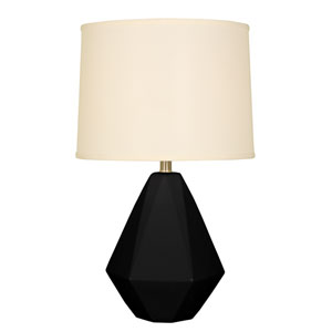 Splash Black One-Light 24.75-Inch Table Lamp