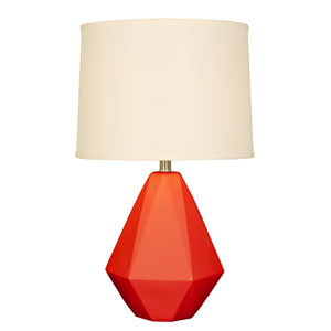 Splash Coral One-Light 24.75-Inch Table Lamp
