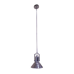 Chrome Nine-Inch One-Light Pendant