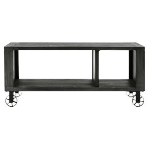 Quentin Deep Charcoal 42-Inch Occasional Rectangle Table