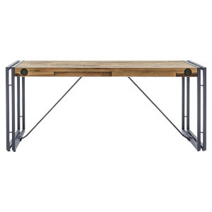 Austen Natural Steel Grey 43-Inch Coffee Table