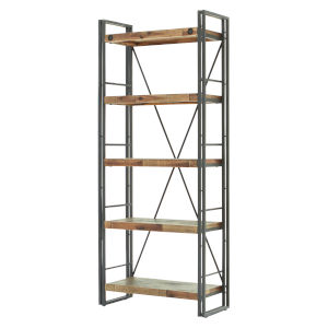 Austen Natural Steel Grey 32-Inch Large Shelf
