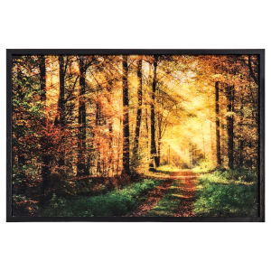 Green Yellow and Brown 36-Inch The Road Trave LED Landscape