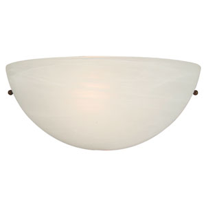 Glacier Point White Wall Sconce