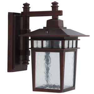 Dante Oil Rubbed Bronze Exterior Light Wall Mount