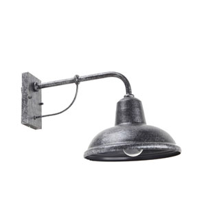 One-Light Wall Sconce in Stone Finish