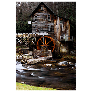 River Mill Print