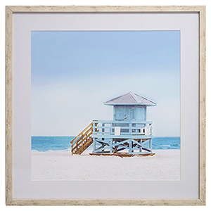 Vacation Elements Framed Wall Art