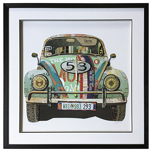 Ride in Style I Framed Wall Art