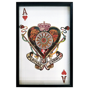 Ace of Hearts Framed Wall Art
