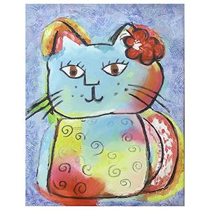 Kitty Love Canvas