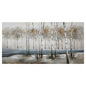 Birch Alley Canvas