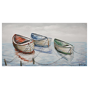 Rowboat Harmony II Canvas