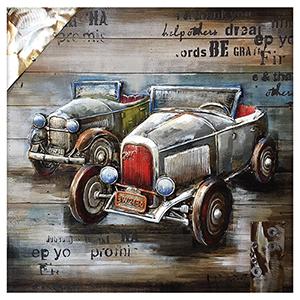 Vintage Car Show Canvas