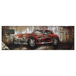 Red Vintage Car II Canvas