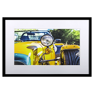 Yellow Style Framed Wall Art