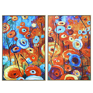 Enchanted Land Canvas, Set of Two
