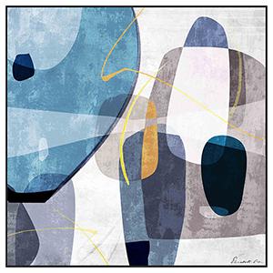 Contemporary Accents II Canvas