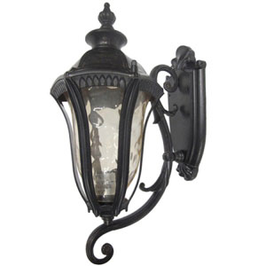 Straford One-Light Oil Weathered Bronze Exterior Light
